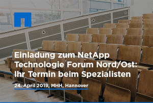 NetApp Technologie Forum 2019